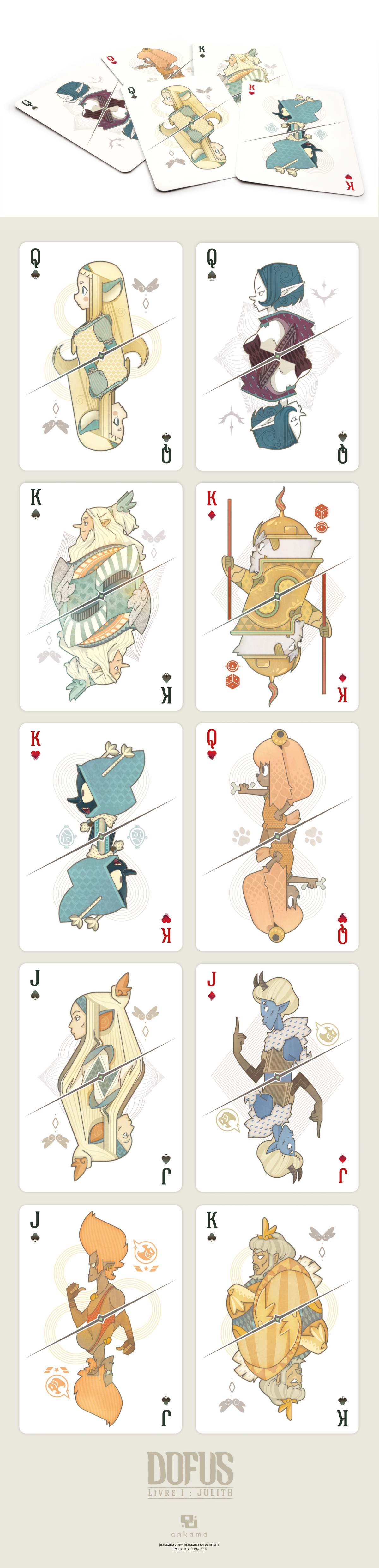 Playing Cards - DOFUS FILM