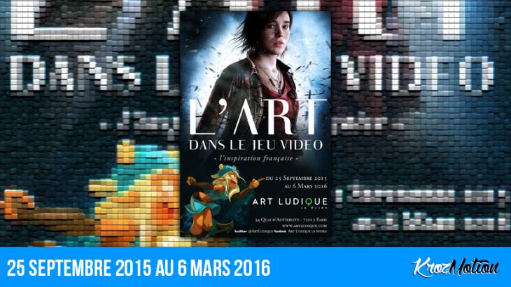 « L'Art dans le Jeu vidéo » au musée Art Ludique, avec la participation d'Ankama