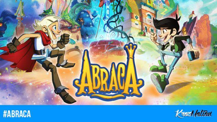 #ABRACA : de joli artwork du jeu vidéo et les premiers articles du Firmin's Blog