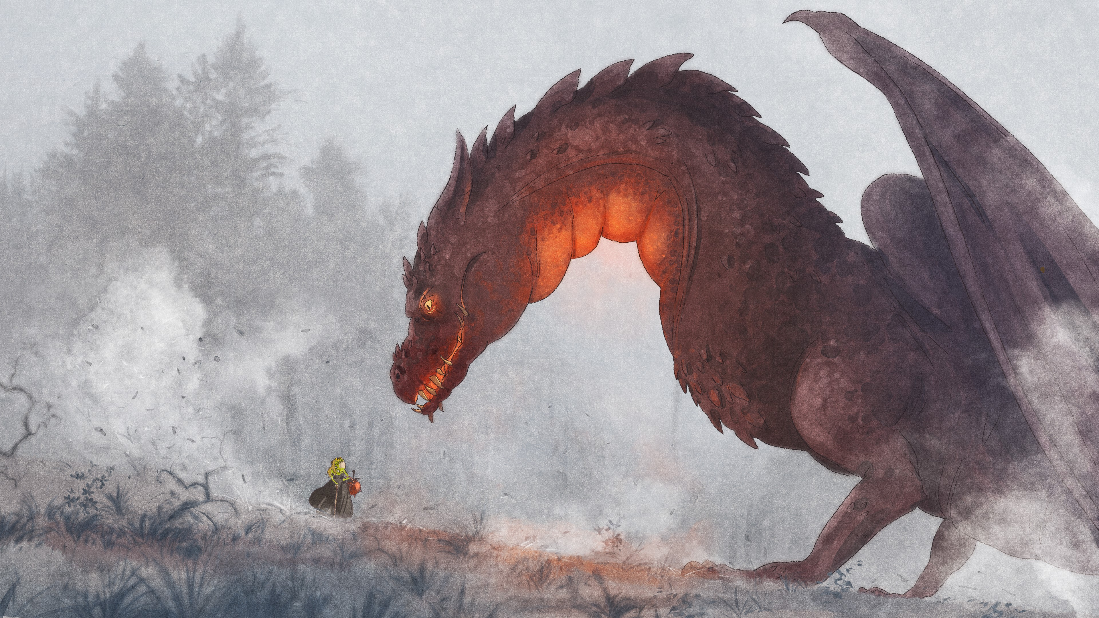 animations   princess dragon  un autre long